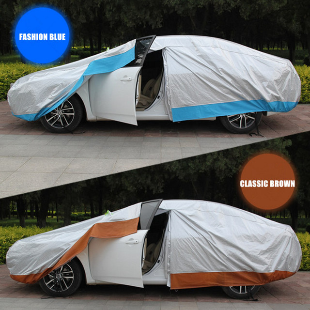 Automobile Exterior Winter Protection Car Cover Thicken Filling