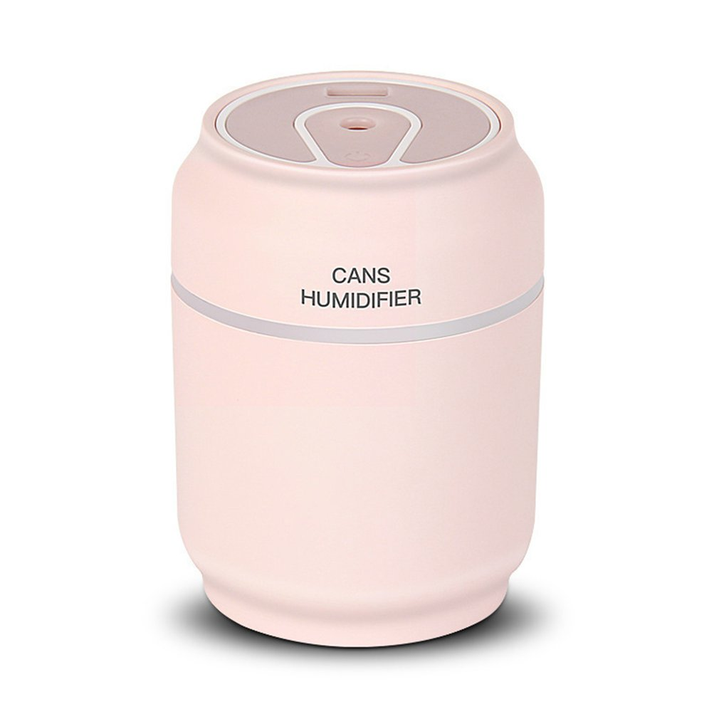 Cans Type Humidifier 3 In 1 Mini Air Purifier USB Car Power Bank Portable Vehicle Humidifier Silent Bedroom Desktop Diffuser