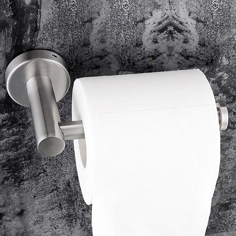 Rollenhalter Edelstahl Küche   Klebstoff Papier Halter 304 Edelstahl Fur Bad Kuche Wc Wc Tissue