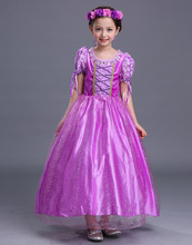 New children's clothing Sophia long hair princess dress girls children stage costumes children's dresses брюки sophia sophia so042ewgoif9