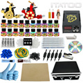 ITATOO Pens Tattoo Kit Cheap Tattoo Machine Set Kit Tattooing Ink Machine Gun Supplies For Jewelry Weapon Professional TK1000012
