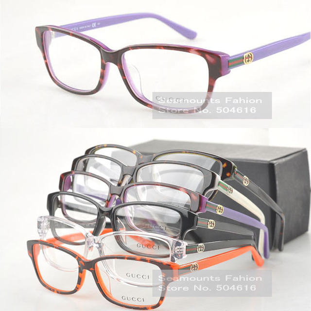 Acetate Women Ladies Big High Quality Trendy Italian Optic Frame GG3562 Reading Glasses Frame