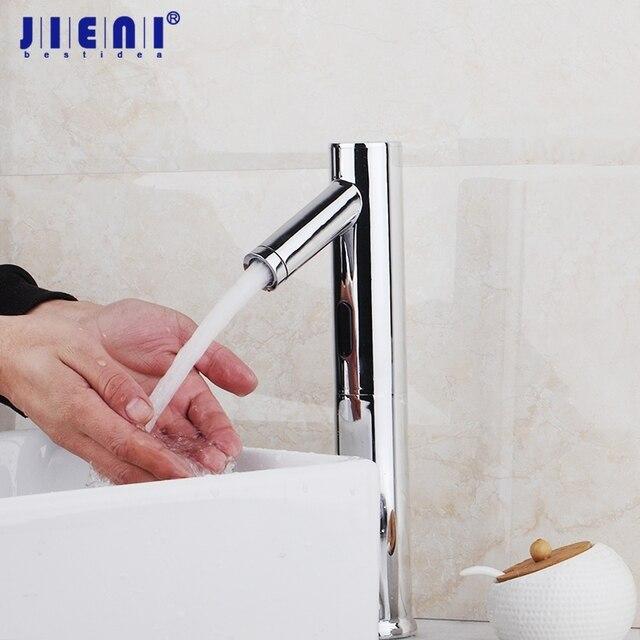 Automatische Handen Touch Gratis Sensor Moderne Ontwerp Kraan ...