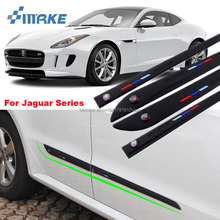 smRKE High-quality Rubber Car Body Anti Scratch Protector Bumper For Jaguar XF F-PACE F-TYPE XE XJ E-PACE XFL Series