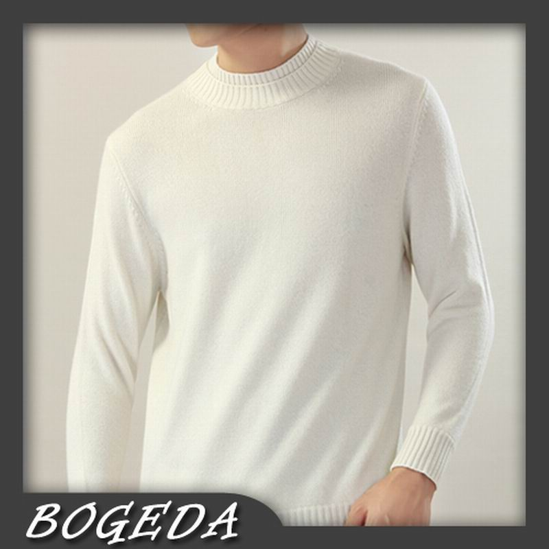 Cashmere sweater Men's Pullover Turtle Double necks Off white ...