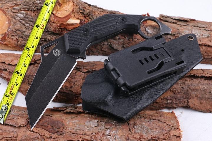 High Quality D2 Blade G10 Handle Hunting font b Knife b font Strider Karambit font b