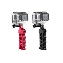 купить Aluminum Alloy Tactical Style Hand Grip for Gopro Hero 7 6 5 4 3+ Black SJ4000 SJ 5000 yi Lite 4K Camera Accessory дешево