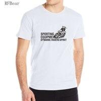 RFBEAR Brand Man Cotton Short Sleeve T Shirt 2017 New Fashion Summer Printing Casual T Shirt