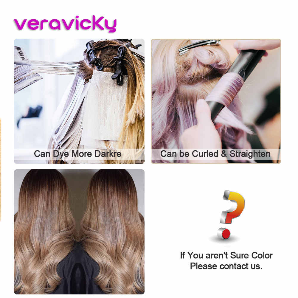 Veravick Remy Tape in Hair Extensions Human Hair 8P613 Balayage Cuticle Aligned Real Hair Seamless PUWeft Russian hair extension