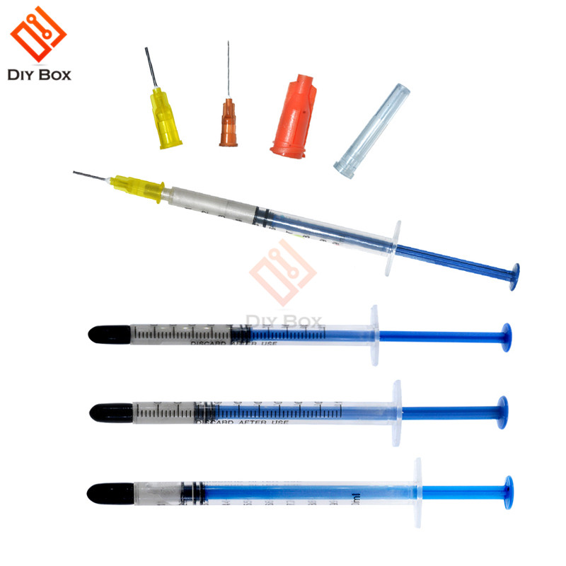 Silver Adhesive 0.2/0.25/0.3/0.5ML Silver Conductive Electrically Paste Adhesive Paint Conducting Resin For PCB Board Repair