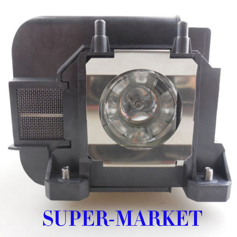 Free Shipping ELPLP75/V13H010L75 Projector lamp with Housing for Epson EB-1940W/EB-1945W/EB-1950/EB-1955 free shipping new projector lamps bulbs elplp55 v13h010l55 for epson eb w8d eb dm30 etc