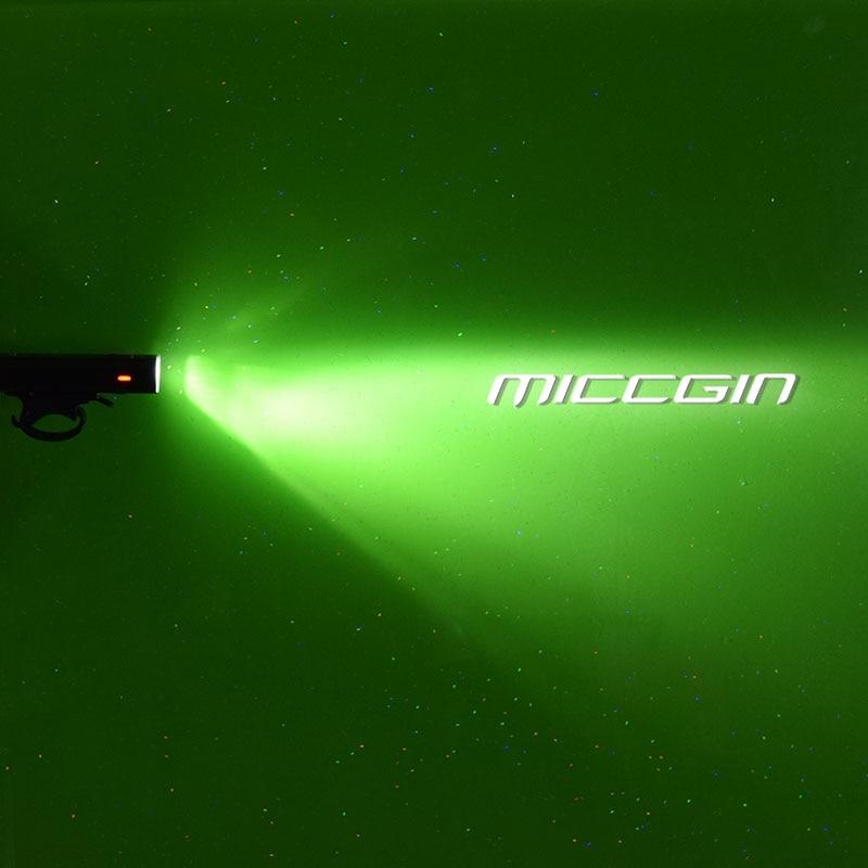 MICCGIN Deutsch Standard Fahrrad Scheinwerfer Fahrrad Frontlicht USB - Radfahren - Foto 3