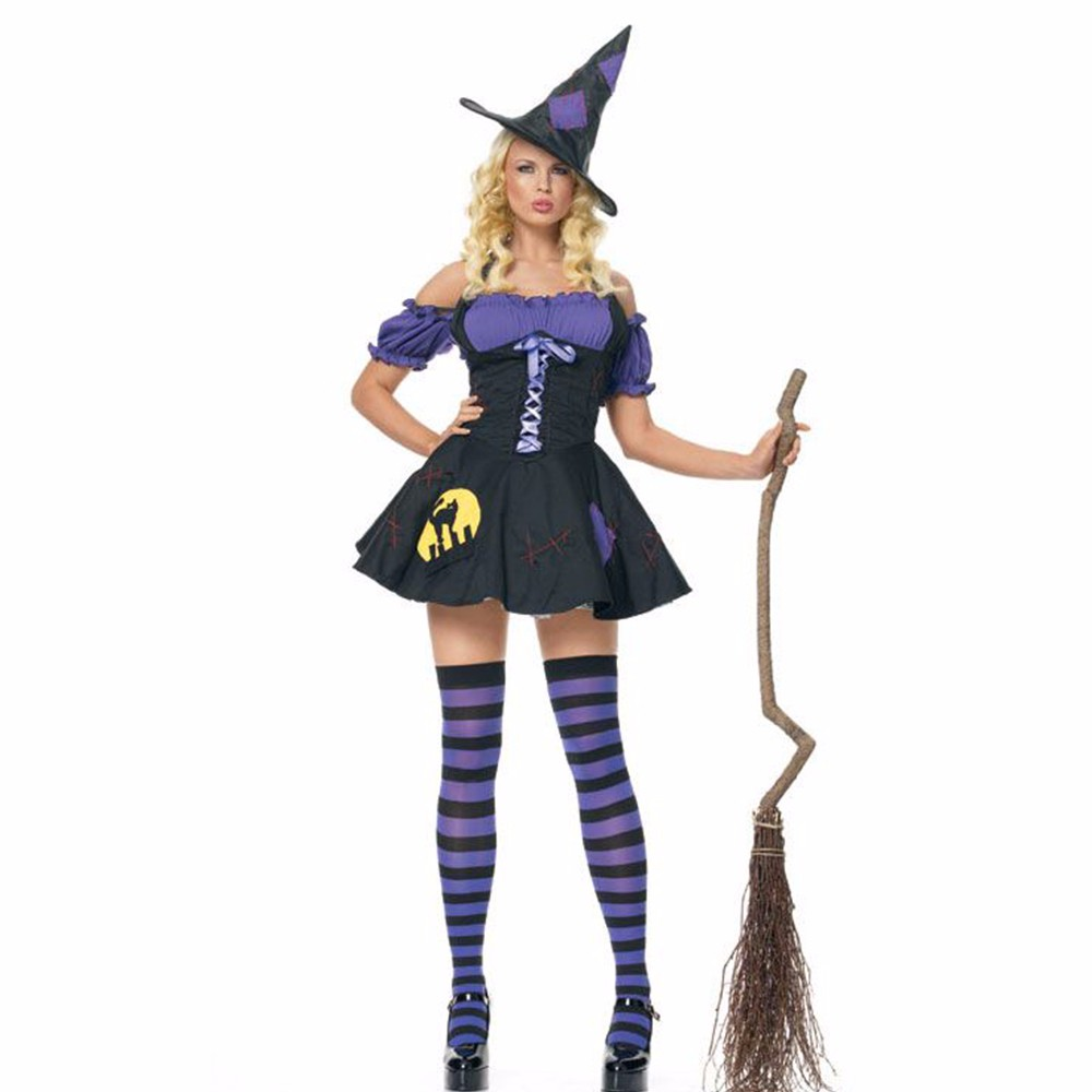 Popular Witch Costumes-Buy Cheap Witch Costumes lots from China ...