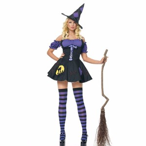 Sexy Witch Costume Deluxe Womens Magic Moment Costume Adult Witch Halloween Costumes For Women Carnaval Fancy Dress With Hat