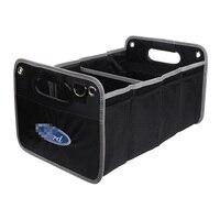 1PCS Car Internal Accessories Organizer Trunk Storage Box For Ford focus 2 3 fiesta ranger kuga Focus mk2 mk3 fusion mondeo mk4