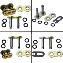 4pc Lot 525 Motorcycle Chain Connecting Master Link O-Ring Seal Chain Buckle