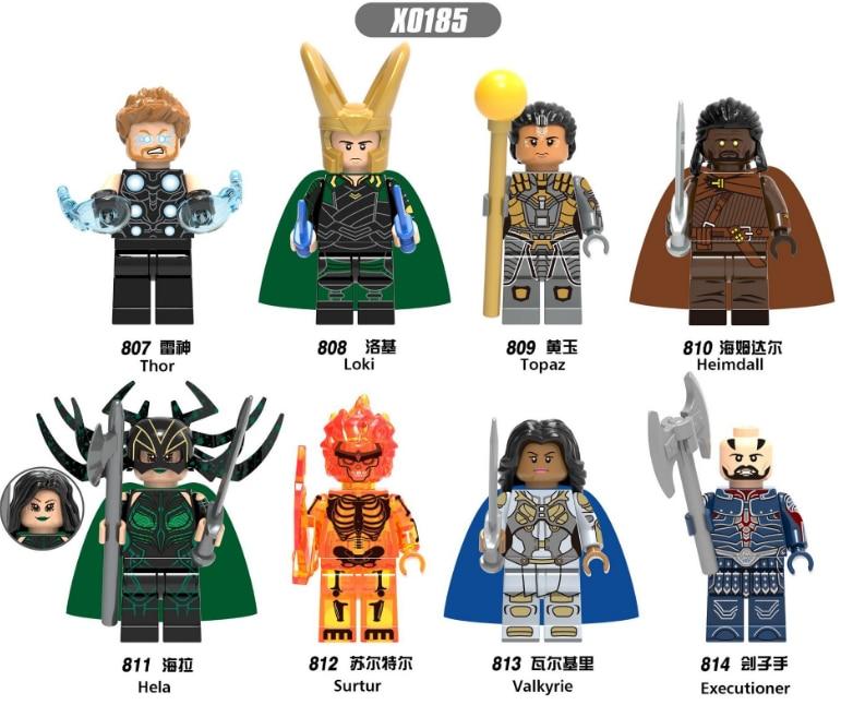 Blocks 200 The Avengers Super Heros Captain American Spider Man Iron Man Wolverine Legoinglys Building Blocks Mini Bricks Toys A Great Variety Of Goods