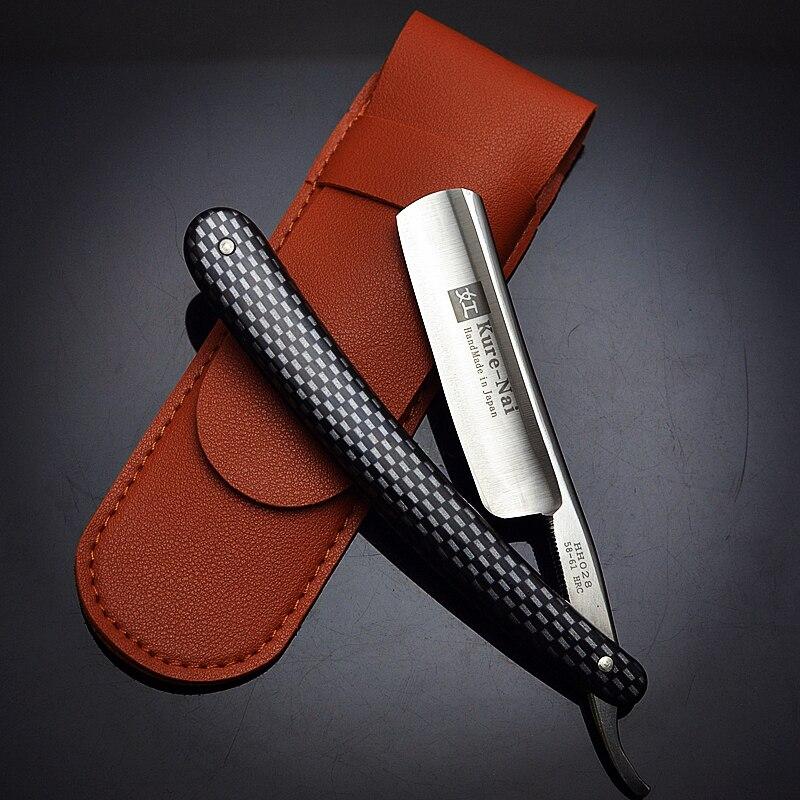 """1 X """"KURE-NAI"""" HH028 #, rozsdamentes acél borotválkozás egyenes borotva, SHAVE READY"""