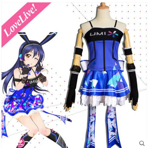 Love Live! Sonoda Umi Video Game Awakening Costume Cosplay Liminous Dress New free shipping A