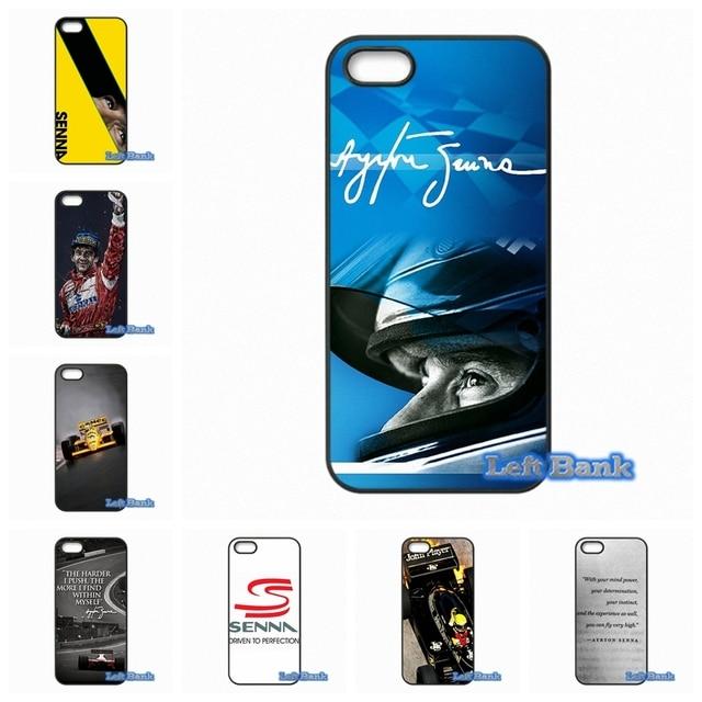 Para 1 + One Plus 2 X Para Motorola Moto E G G2 G3 1 2 gen X X2 Ayrton Senna Racing Logotipo Caso cobrir
