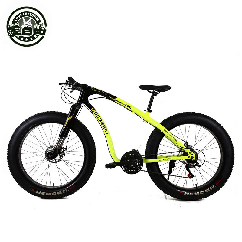 Love Freedom 26 Inch Fat Bike 21/24 /27 Speed Bike Snow Tires 4.0  Bike Bicycle Free Delivery ковер love of snow