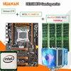HUANAN Golden Deluxe X79 Gaming Motherboard LGA 2011 ATX CPU E5 2680 V2 SR1A6 4 X