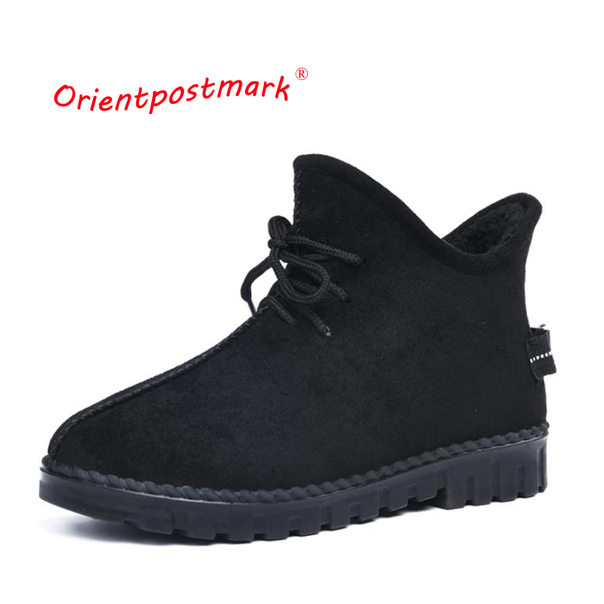Snow Boots Winter Ankle Boots Women Shoes Oversize Shoes Female Warm Hot Platform Winter Ankle Boots