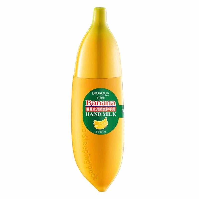 Banana Anti-chapping Hand Care Milk Hand Cream Moisturizing Nourish Lotions Handcream Skin Defender 1