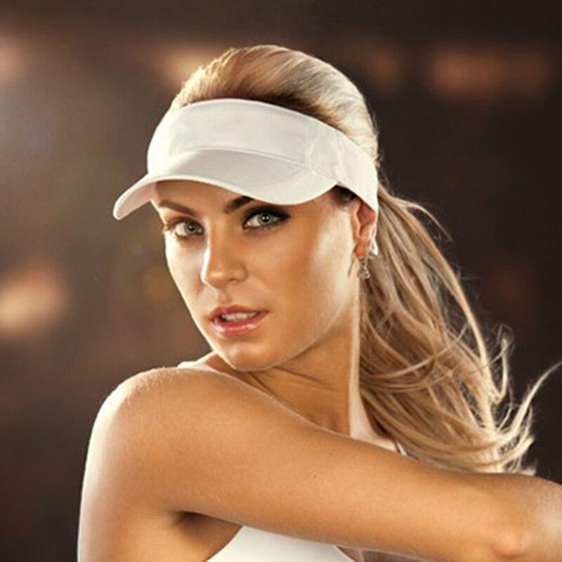 Brand Sports Series Men's Women's Sun Hat Sweat Visor Beach Volleyball Tennis Cap Summer Sports Empty Top Cap