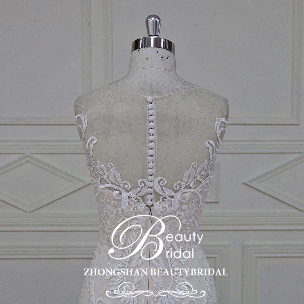 Eslieb 100% πραγματικές φωτογραφίες Robe - Γαμήλια φορέματα - Φωτογραφία 6