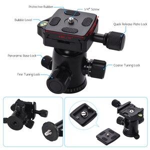 Image 3 - Cz在庫zomei Q100 Q111 Q555 Q666 Q666Cカメラ三脚旅行ポータブルカメラの三脚一眼レフカメラ三脚