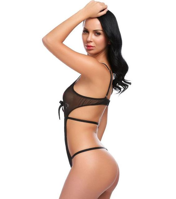 Erotic Mesh Bodysuit for Women