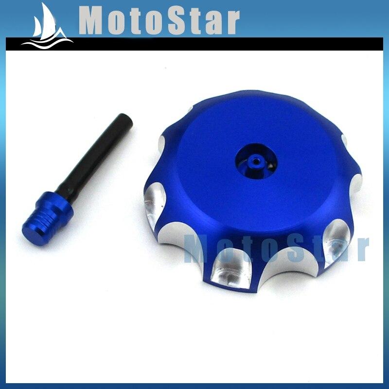 STONEDER Blue CNC aliuminio dyzelino kuro bako dangtelio dangtelis motociklų purvo motociklui