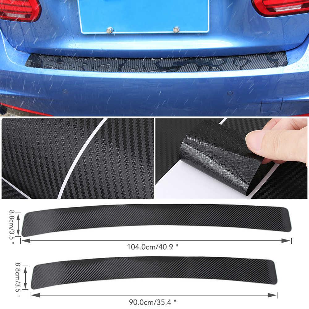 In fibra di carbonio prestazioni di potenza car rear bumper sticker per bmw E34 E36 E60 E90 E46 E39 E70 F10 F20 F30 x5 X6