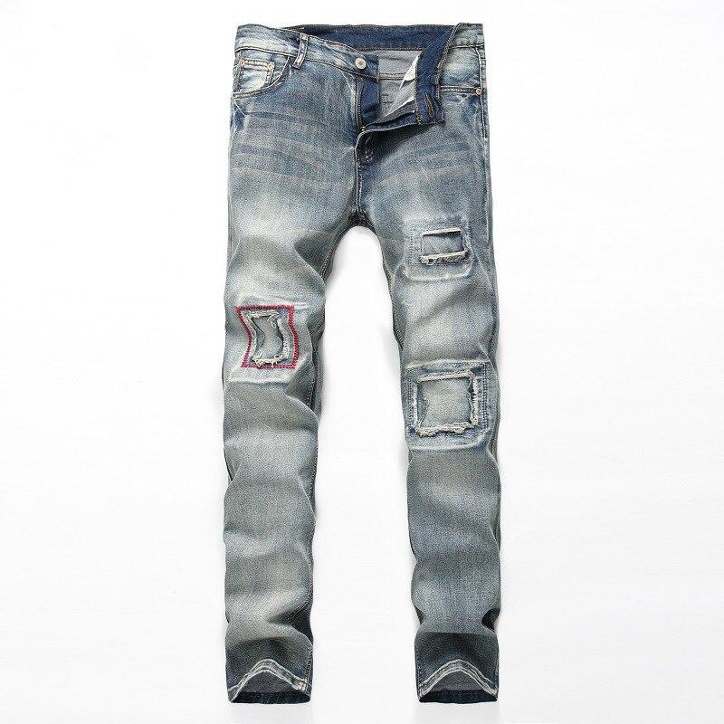 New Men s Jean Style Fashion Men Jeans Luxury Men s Casual Denim Pant Trousers Hole