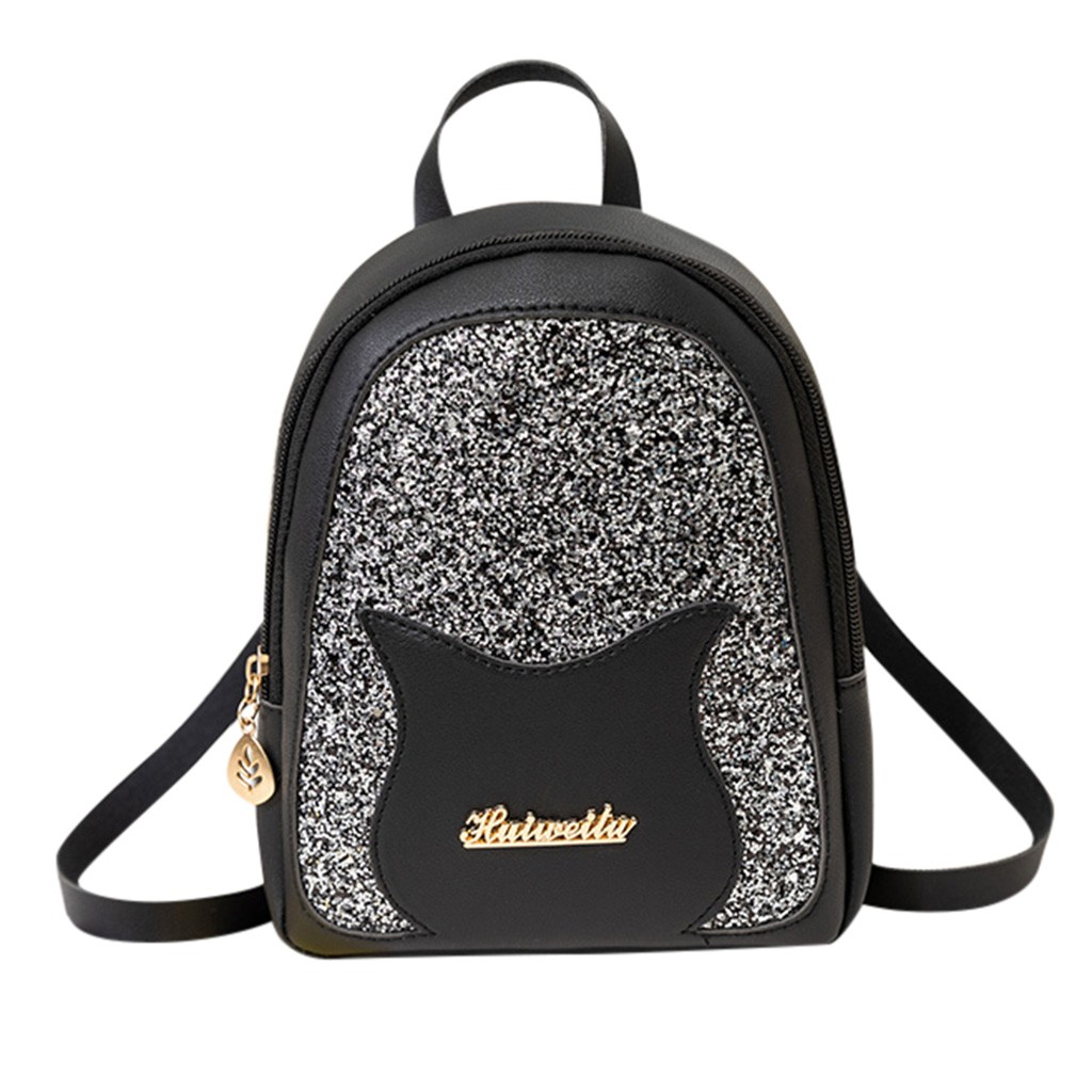 Cute Little Shining School Bag For Teenage Girls Kids
