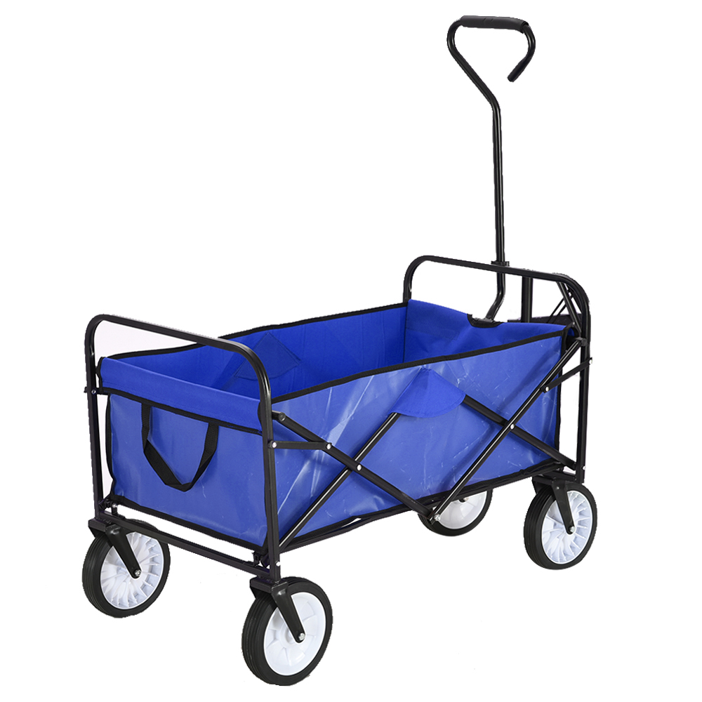 Panana Folding Hand Truck Trolley Barrow Cart Garden Platform Trolley Home Garden Tool Capacity 100kg
