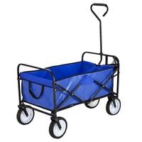Panana Folding Hand Truck Trolley Barrow Cart Garden Platform Trolley Home Garden Tool Capacity 100kg