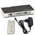 Professional 3 Porta HDMI Mudar Switcher Splitter 1.4 V Plugue DA UE Com 5 V Adaptador De Energia Para Monitor de TV Projetor