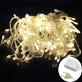 Outdoor Waterproof 10M 100 LED EU US Home  Holiday Christmas Decorative Wedding xmas String Fairy Garlands Strip Party Lights
