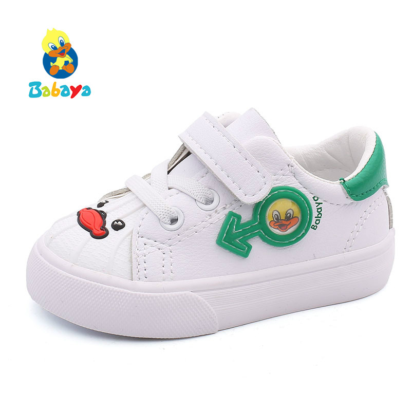Shoes Toddler Girls Soft-Soled Boys New White Small Spring 1-3-Years-Old