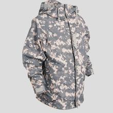SouthPlay Spring & Autumn Season Waterproof Coat Rain Military Khaki Jackets For Wind Stopper