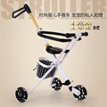 take baby shopping artifact,foldable baby tricycle,baby stroller,hand push stroller for kids 2-7 years,baby Three-Wheeled Cart