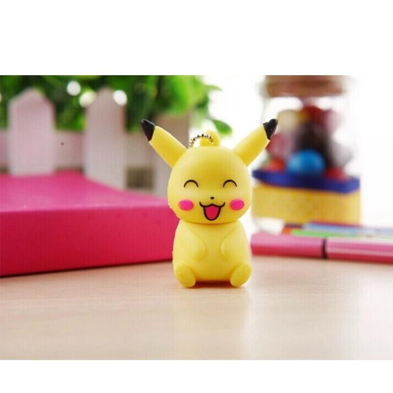 Pokemon Pikachu Pendrive 4GB 8GB 16GB 32GB 64GB Cartoon Animal Cute  USB Flash Drives Thumb Pen Drive Gift Usb Stick Memoria Usb