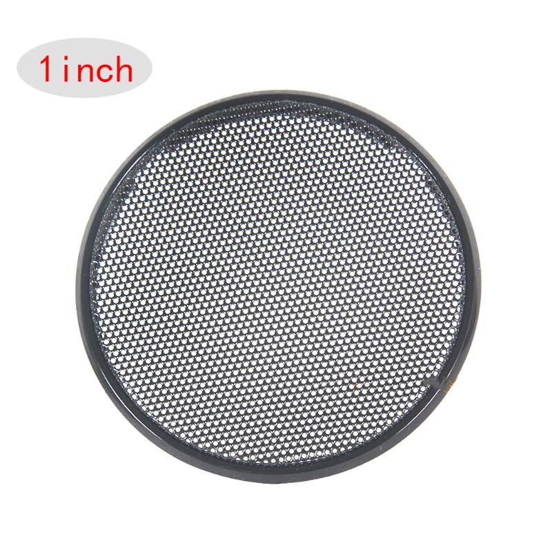 3Pcs 1inch Metal Speaker Decorative Circle Grill Cover Guard Protector Mesh