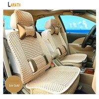 LARATH 1 Stücke Universal Stoff Exquisite Coole Lordosenstütze Auto Sitzkissen Atmungs Covers Schutz für Auto