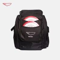 Yikun Discs Disc golf bag holds 30 Discs | Standard Disc Golf Bag | Outdoor Backpack