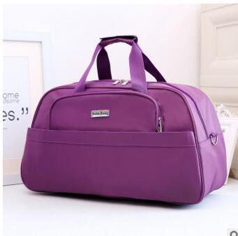 Korean men and women hand-held large-capacity travel bag nylon luggage bag shoulder Messenger sports fitness bag