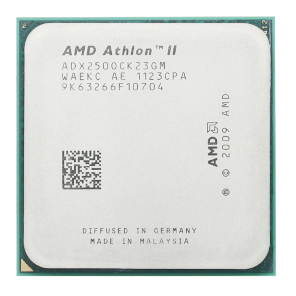 <font><b>AMD</b></font> Athlon X2 250 3GHz/Dual-Core/<font><b>CPU</b></font> Processor/ADX250OCK23GM/Socket <font><b>AM3</b></font>/938pin image