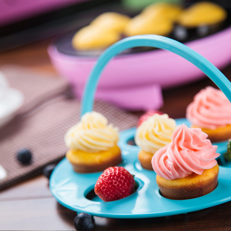 220V Cup Cake Maker Electric Baking Pan Fully automatic Cake Machine